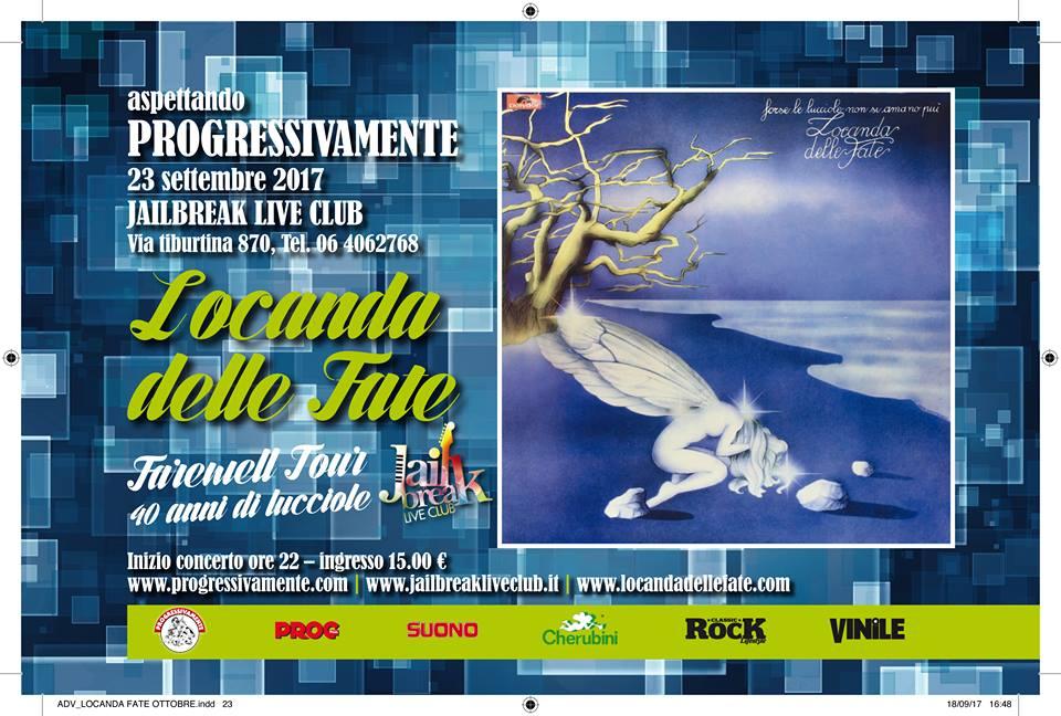 Locanda Delle Fate - Jailbreak Live Club - Farewell Tour 2017 - Promo