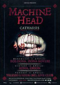 Machine Head - 3 date ad aprile