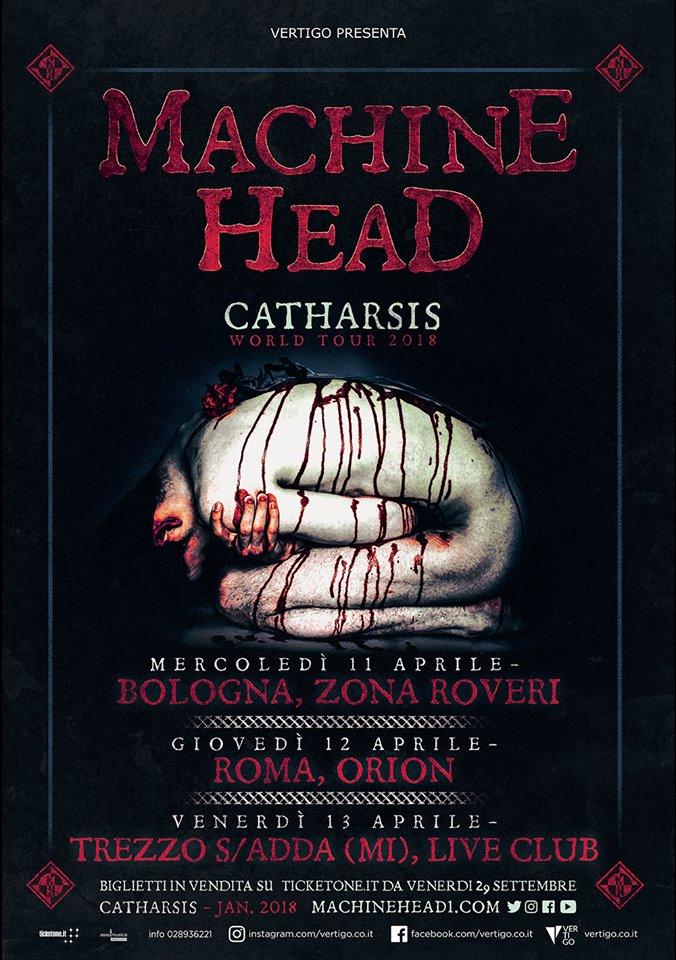 Machine Head - Catharsis World Tour 2018 - Promo