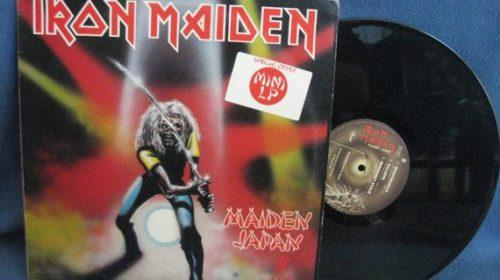"""14 Settembre 1981 - esce """"Maiden Japan"""" degli Iron Maiden"""