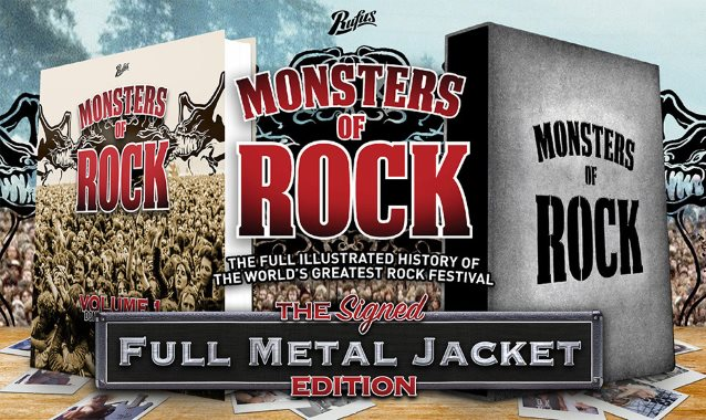 Monsters Of Rock - Book Cover