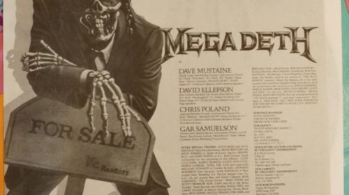 "19 Settembre 1986 - esce ""Peace Sells... But Who's Buying?"" dei Megadeth"