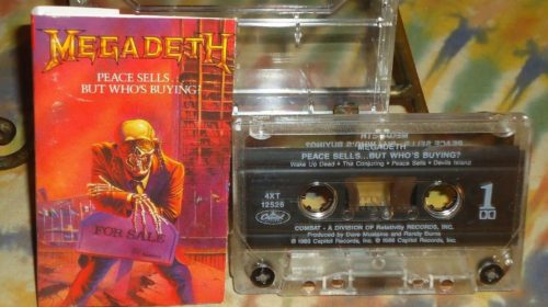 """19 Settembre 1986 - esce """"Peace Sells... But Who's Buying?"""" dei Megadeth"""