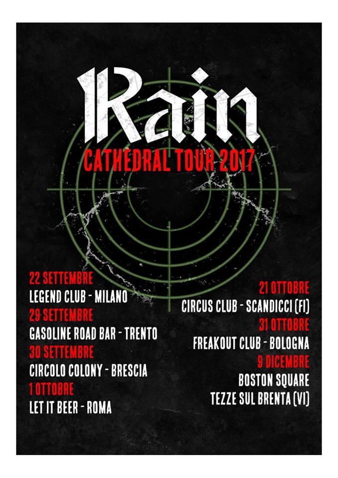 Rain - Cathedral Tour 2017 - Promo