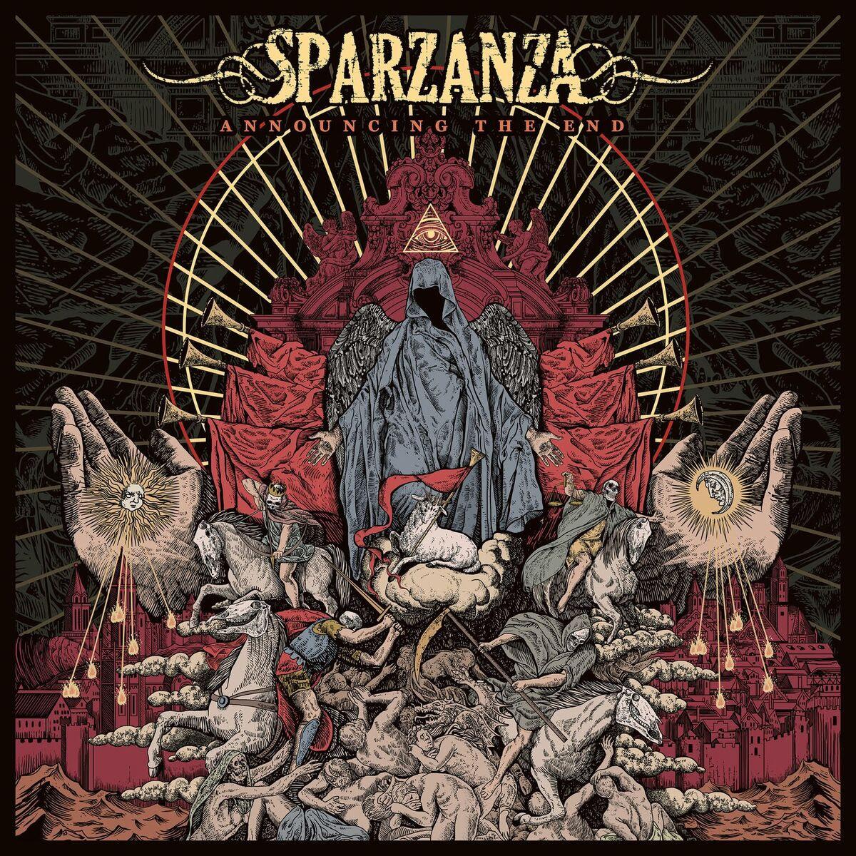 Sparzanza - Announcing The End - Album Cover