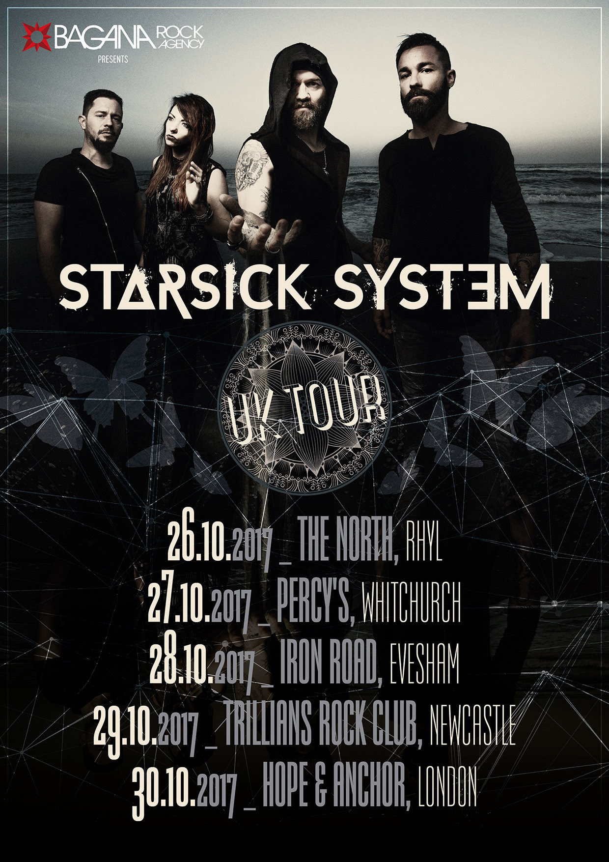 Starsick System - UK Tour - 2017 - Promo