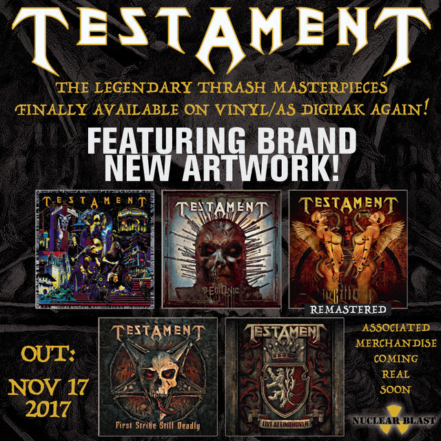 Testament - Featuring Brand - New Atwork - Promo