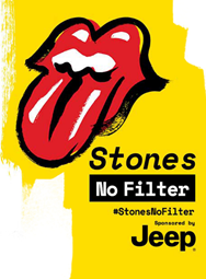 The Rolling Stones - Stones No Filter - Jeep - Tour 2017 - Promo
