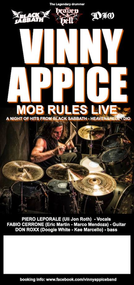 Vinny Appice - Mob Rules Live 2017 - Promo