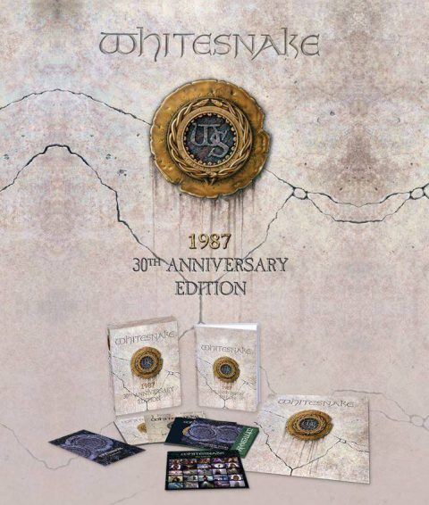 Whitesnake - 1987 - 3oTh Anniversary Edition - Album Cover
