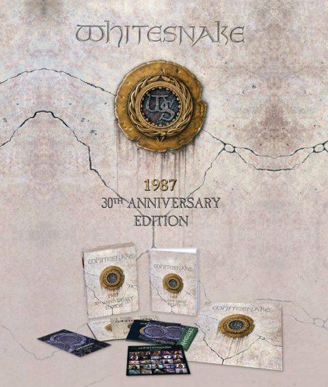 Whitesnake - 1987 - 3oTh Anniversary Edition - Album Cover
