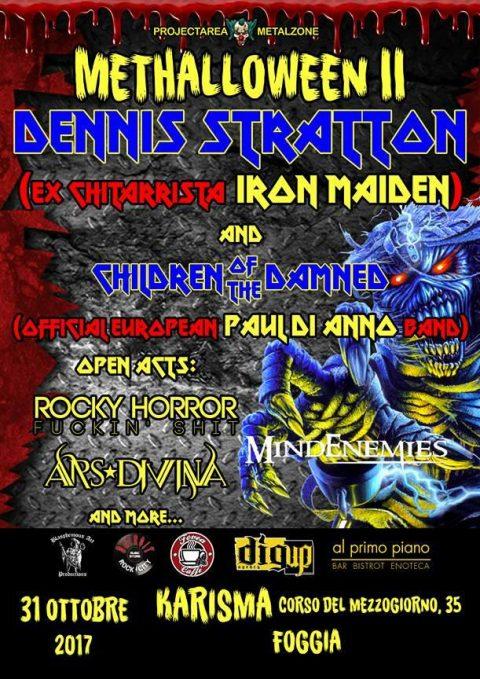 Dennis Stratton - Methalloween II - Karisma 2017 - Promo