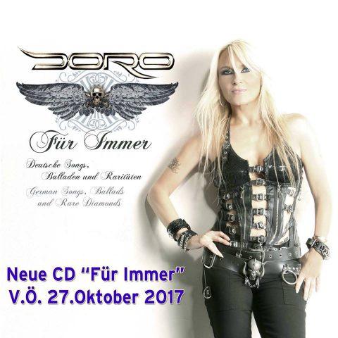 Doro Pesh - Für Immer - Album Cover