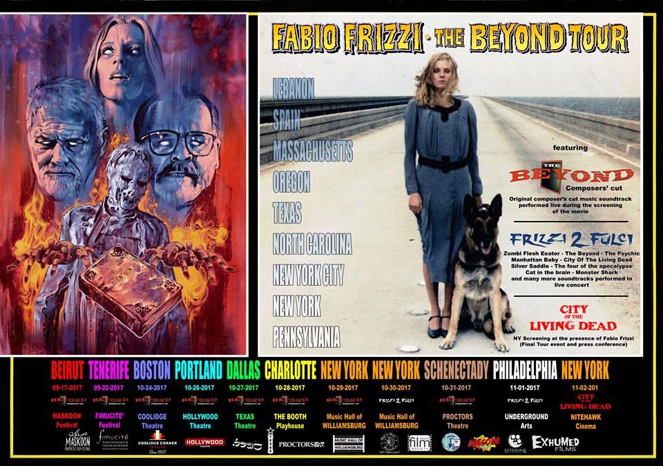 Fabio Frizzi - The Beyond Tour 2017 - Promo