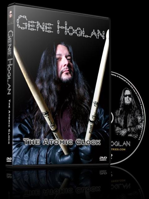 Gene Hoglan - The Atomic Clock - DVD Cover