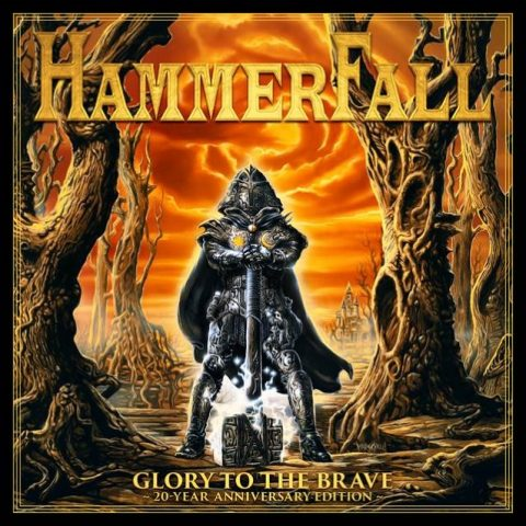Hammerfall - Glory To The Brave 20 Year Anniversary Edition - Album Cover