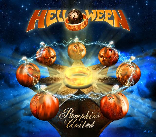 Helloween - Pumpkins United - Single Cover