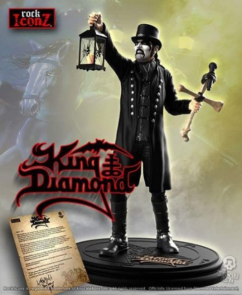 King Diamond - Action Figure Cover