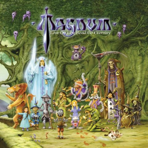 Magnum - Lost On The Road To Eternity - Album Cover