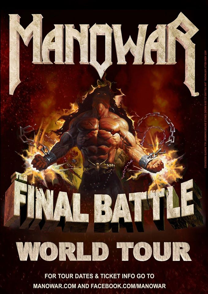 Manowar - The Final Battle World Tour - Promo