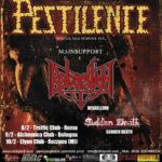 Pestilence - Rebaelliun - Sudden Death - Fight The Plague - Italian Tour 2018 - Promo