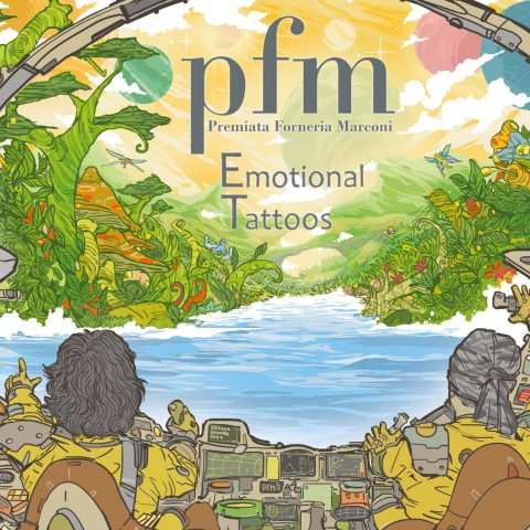 PFM -Emotional Tattoos - Album Cover