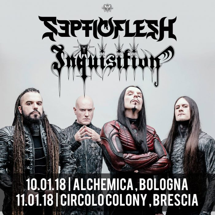 Septicflesh - Inquisition - Tour 2018 - Promo