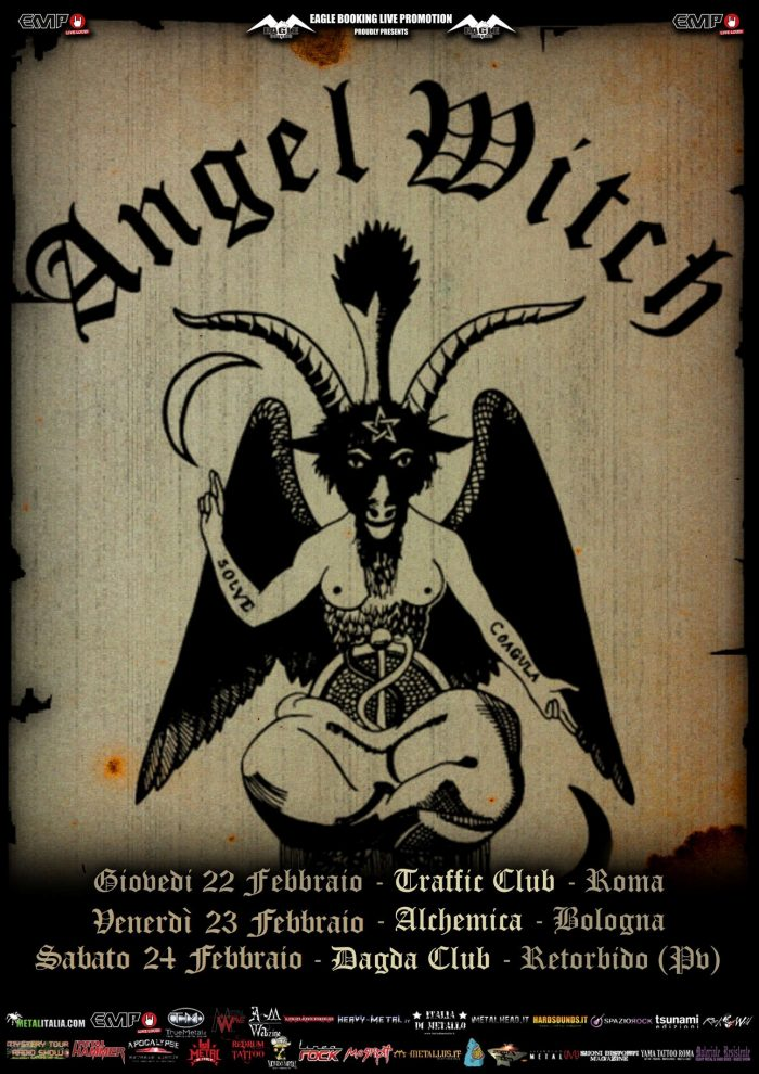 Angel Witch - Tour - 2018 - Promo