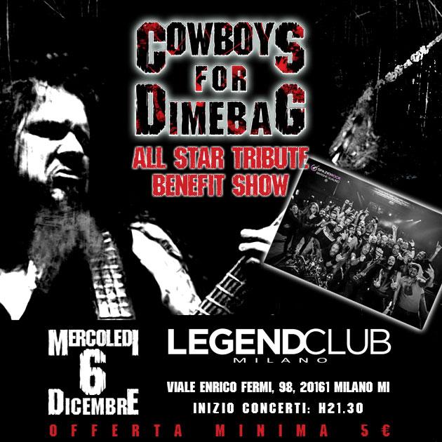 Cowboys For Dimebag @ Legend - 06 12 2017