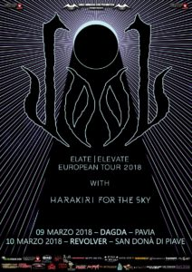 Dool + Harakiri For The Sky - 2 date a marzo 2018