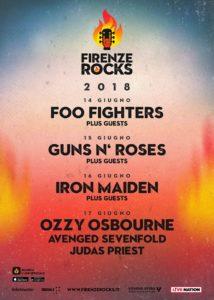 Firenze Rocks 2018 - Firenze @ Visarno Arena