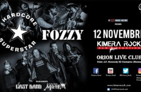 Hardcore Superstar + Fozzy: lo show che non ti aspetti @ Orion – 12 11 2017