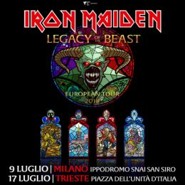 Iron Maiden - European Tour 2018 - Promo