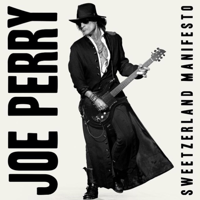 Joe Perry - Sweetzerland Manifesto - Album Cover