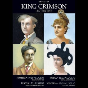King Crimson - 7 date in Italia