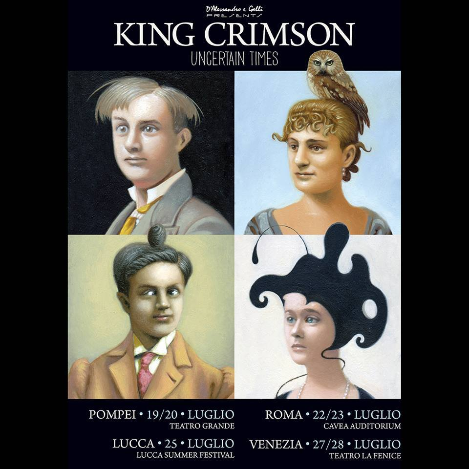 King Crimson - Tour 2018