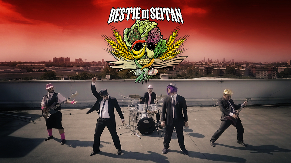 Nanowar Of Steel - Bestie Di Seitan - Album Cover