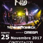 New Disorder - Omega - Contestaccio - 2017 - Promo