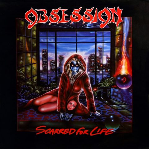 Obsession - Scarred For Life - Album Cover