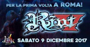 Riot V @ Roma @ Jailbreak Live Club
