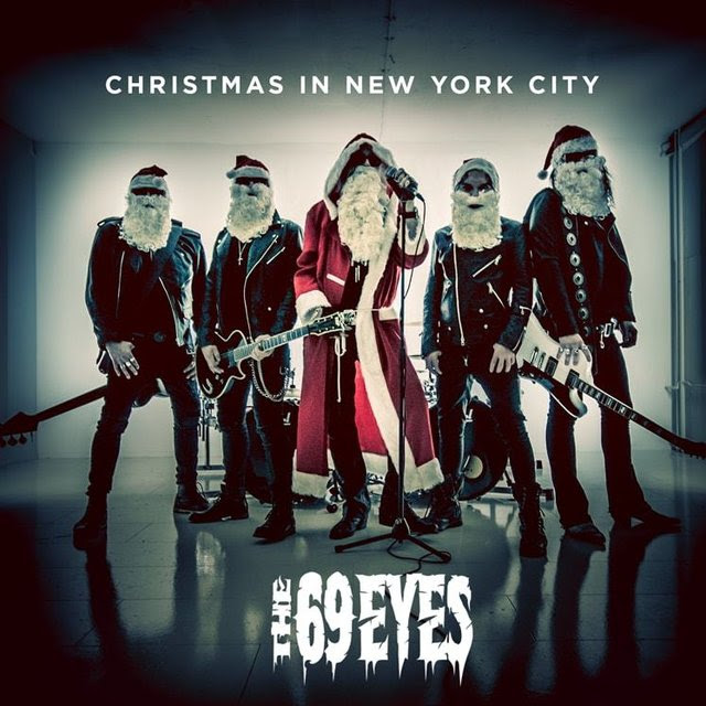 The 69 Eyes - Christmas In New York City - Single Cover