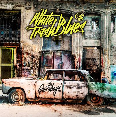 The Quireboys - White Trash Blues - Album Cover