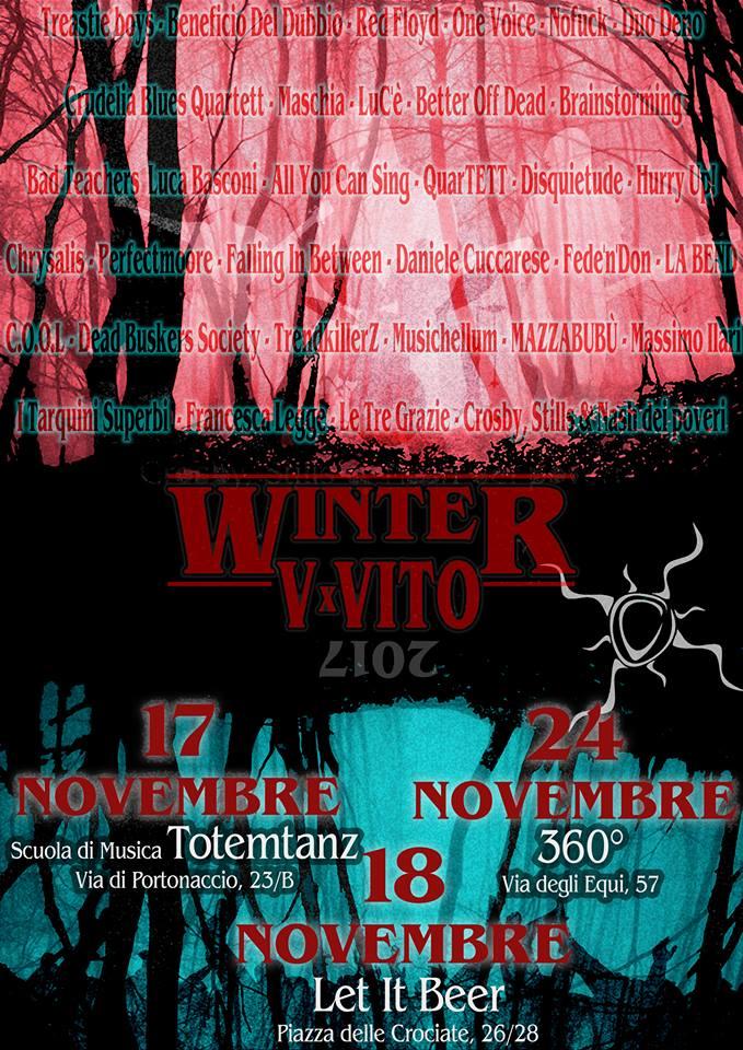 V x Vito Winter @ Roma - Novembre 2017