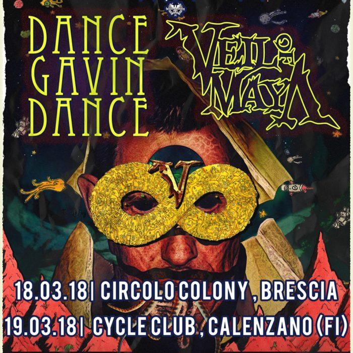 Veil Of Maya - Dance Gavin Dance - Tour 2018 - Promo