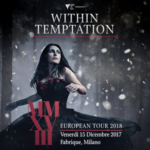 Within Temptation - Fabrique - European Tour 2018 - Promo