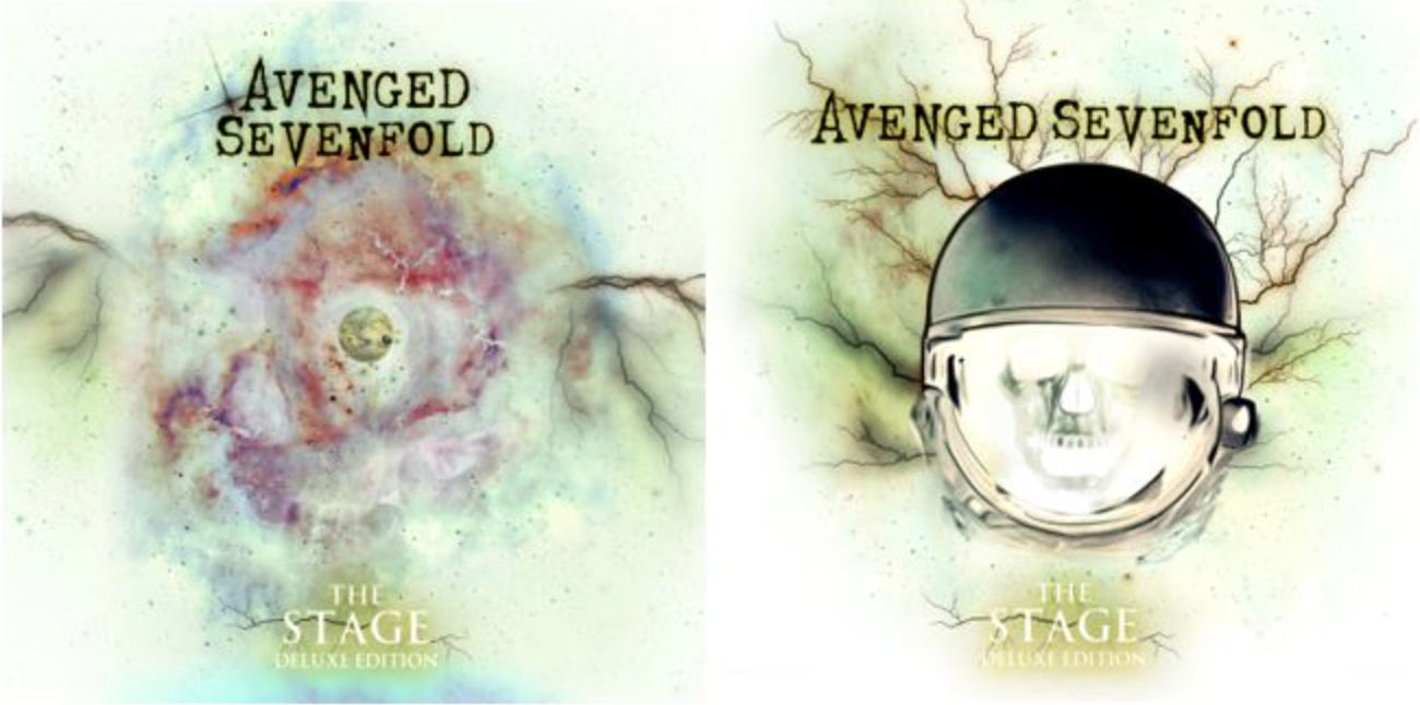 Avenged Sevenfold - The Stage Deluxe Edition - Album Cover