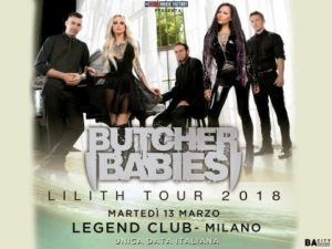 Butcher Babies @ Milano @ Legend Club