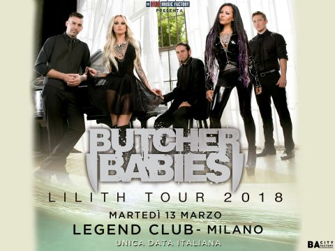 Butcher Babies - Legend Club - Lilith Tour 2018 - Promo