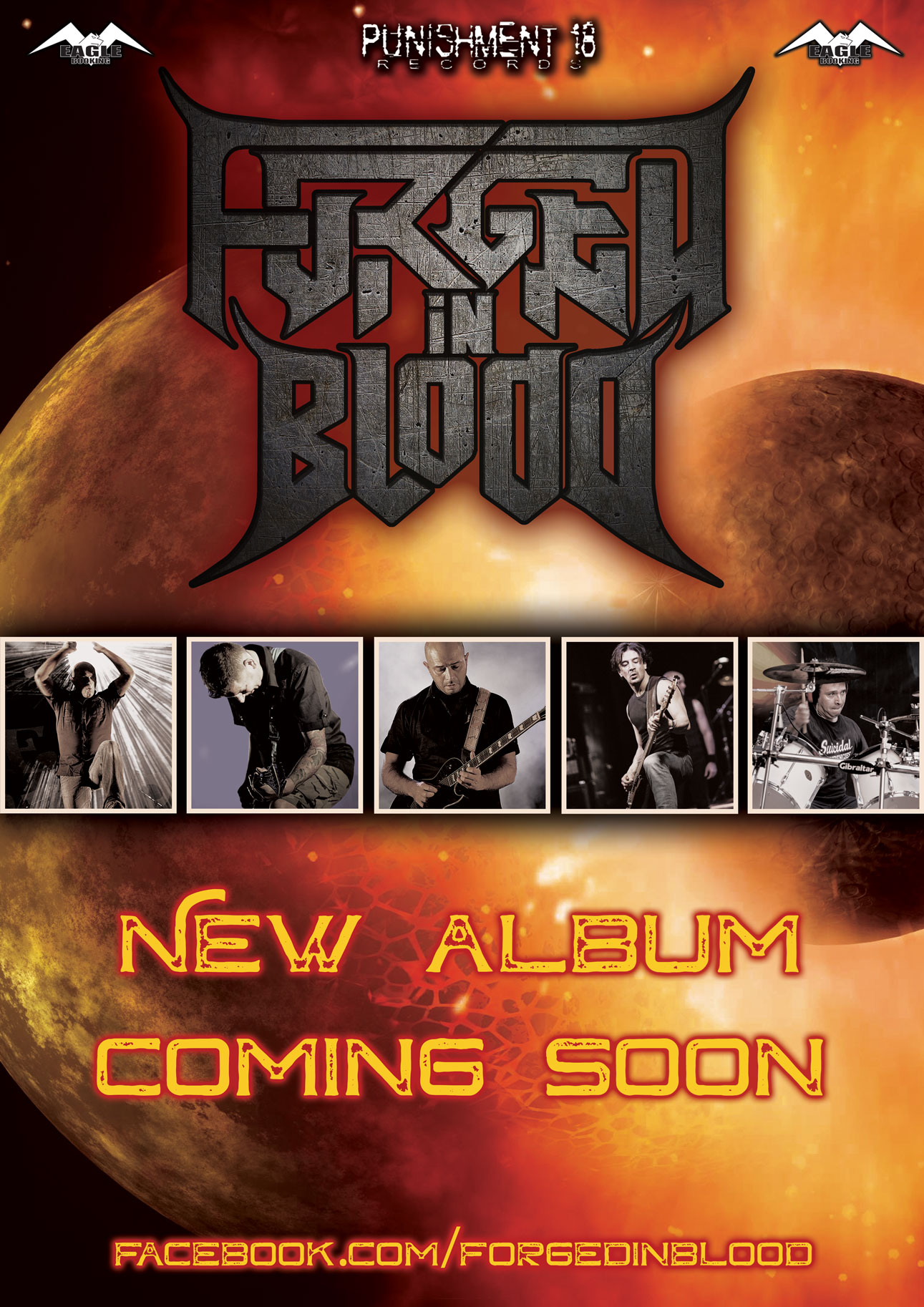 Forged In Blood - Punishment 18 Records - Promo