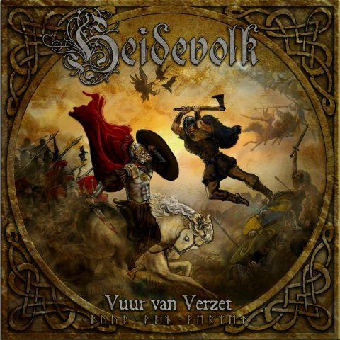 Heidevolk - Vuur Van Verzet - Album Cover